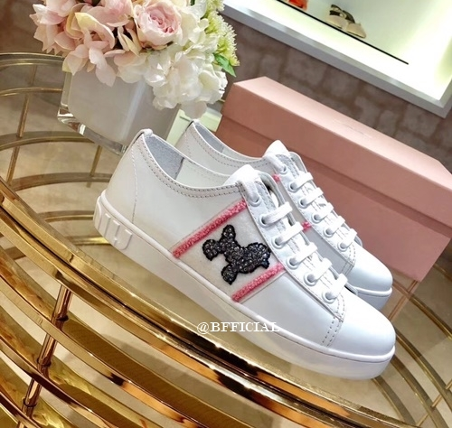 d4acc0b59a6 MIU MIU Pooddle Dog Sneakers